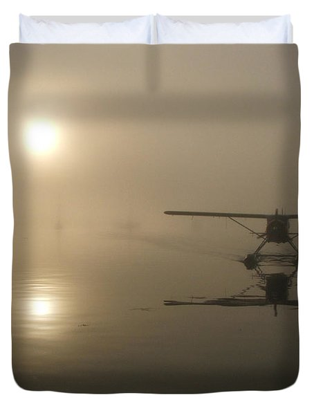 A Bad Day For Flying  Duvet Cover