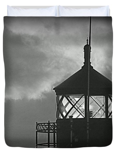 A Beacon In The Night Duvet Cover by Kay Novy