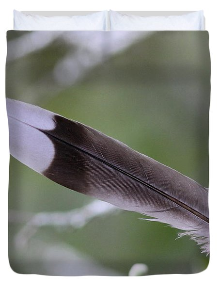 A Birds Christmas Duvet Cover by Travis Truelove
