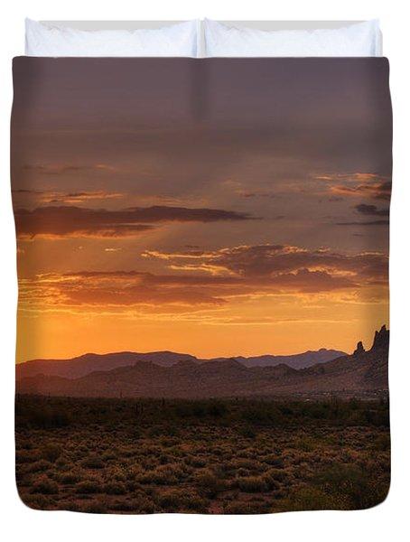 A Bit Of Desert Beauty  Duvet Cover by Saija  Lehtonen