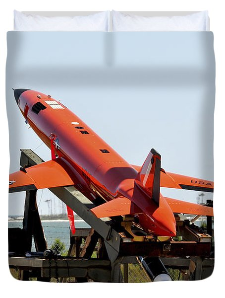 A Bqm-167a Subscale Aerial Target Duvet Cover by Stocktrek Images