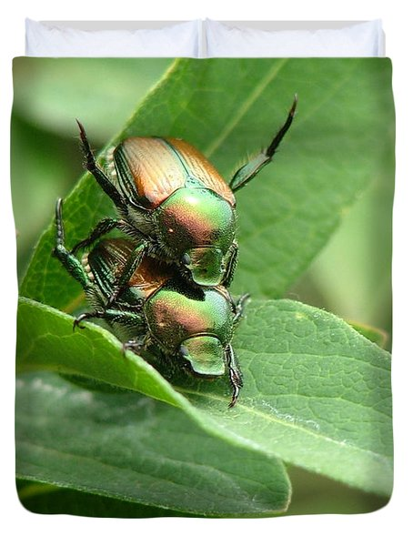 A Bugs Day Duvet Cover