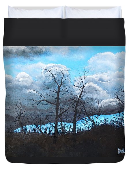 A Cloudy Day Duvet Cover