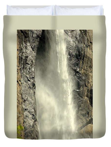 A Force Of Nature Duvet Cover by Lynn Bauer