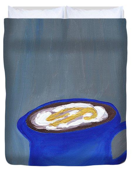 A Little Blue Duvet Cover