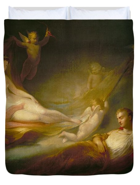 A Painter's Dream Duvet Cover by Thomas Buchanan Read