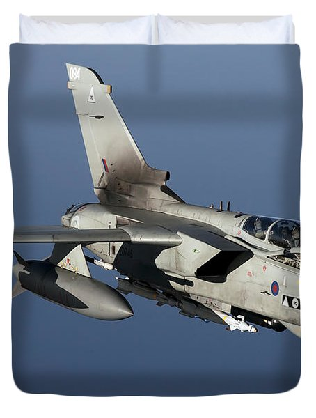 A Panavia Tornado Gr4 Of The Royal Air Duvet Cover by Gert Kromhout