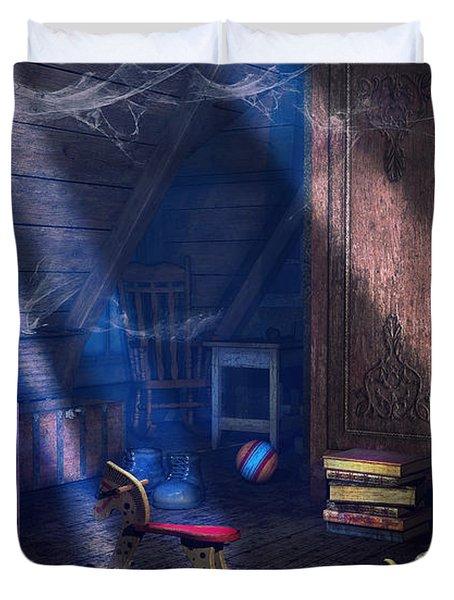 A Place Of Memories Duvet Cover by Jutta Maria Pusl