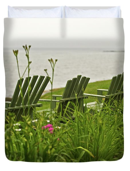 A Place To Relax Duvet Cover by Paul Mangold