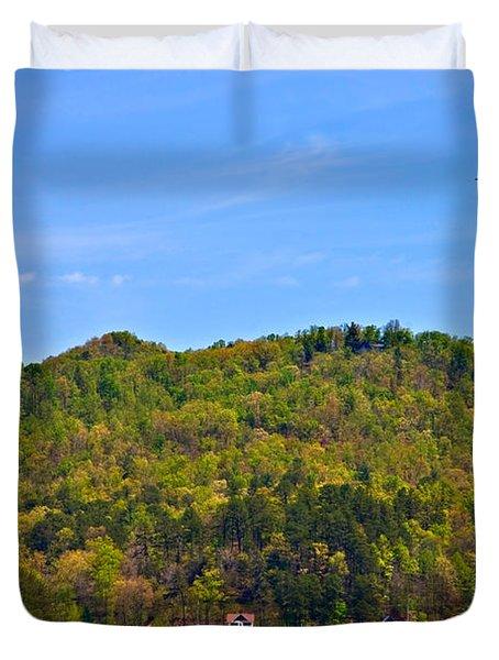 A Quiet Day Duvet Cover by Susan Leggett