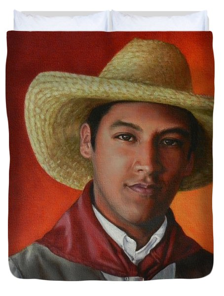A Smile From The Andes Duvet Cover