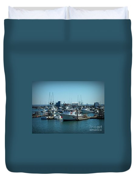 A Sunny Nautical Day Duvet Cover by Chalet Roome-Rigdon