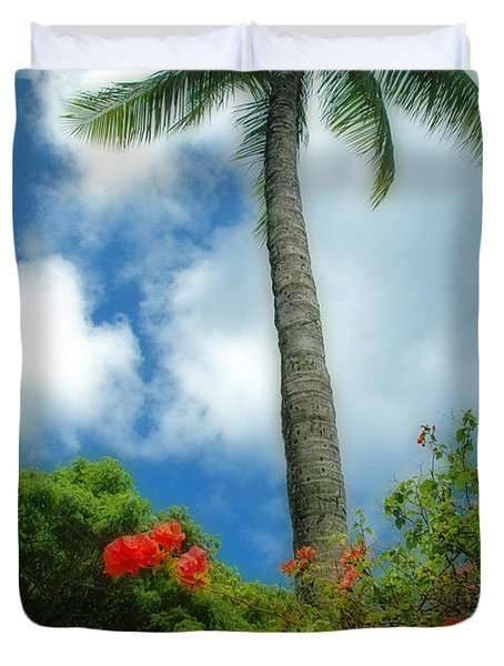 A Touch Of The Tropics Duvet Cover by Lynn Bauer