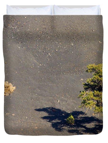 A Tough Neighborhood Duvet Cover by Mike  Dawson