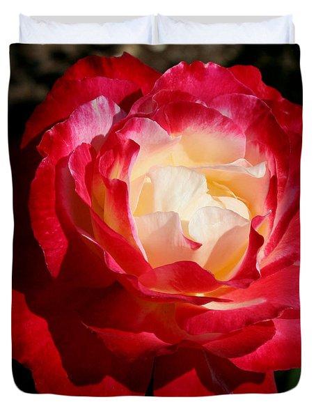 A Unique Rose Duvet Cover by Karen Harrison
