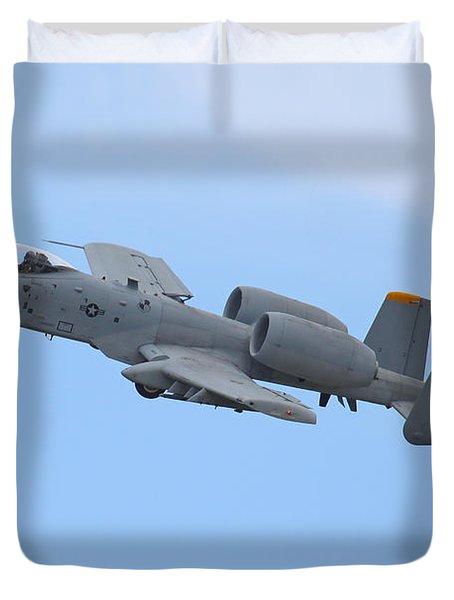 A10 Warthog Duvet Cover by Ken Brannen