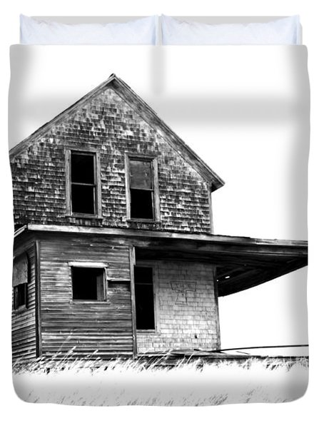 Abandoned And Alone 2 Duvet Cover by Bob Christopher