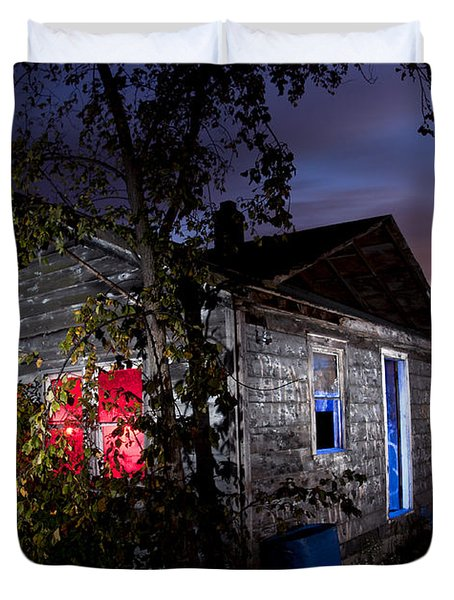 Abandoned Home Duvet Cover