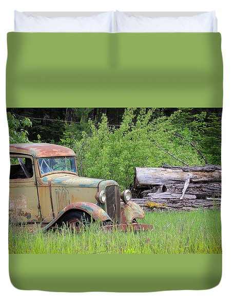 Abandoned Duvet Cover by Steve McKinzie