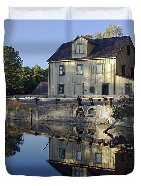 Abbotts Mill Duvet Cover by Brian Wallace