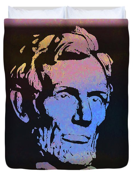 Abe Duvet Cover by Bill Cannon
