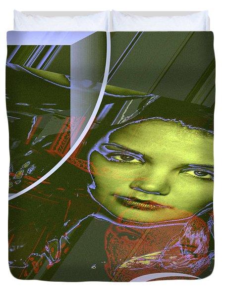 About Art Streetart Duvet Cover