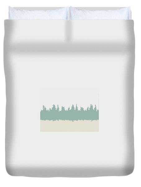 Above And Below Duvet Cover by Jeff Iverson