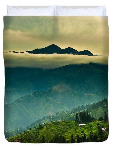 Above Clouds Duvet Cover by Syed Aqueel
