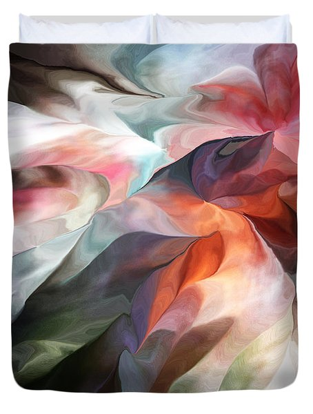 Abstract 062612 Duvet Cover by David Lane