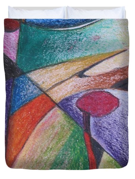 Abstract 510 Duvet Cover by Nedunseralathan R