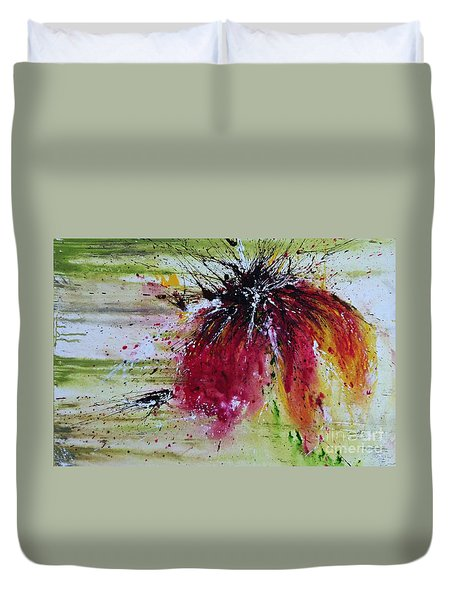 Abstract  Flower Duvet Cover