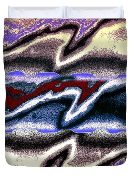 Abstract Fusion 101 Duvet Cover