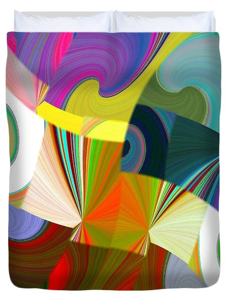 Abstract Fusion 24 Duvet Cover