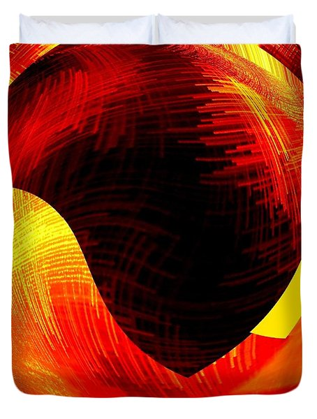 Abstract Fusion 40 Duvet Cover