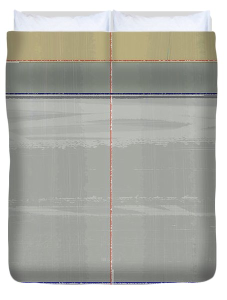 Abstract Light 7 Duvet Cover by Naxart Studio