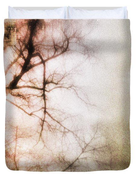 Abstract Trees Duvet Cover by David Ridley