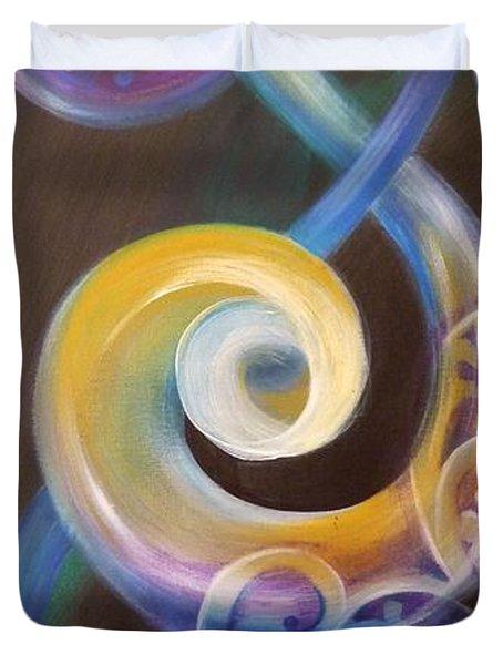 Abundant Duvet Cover by Reina Cottier