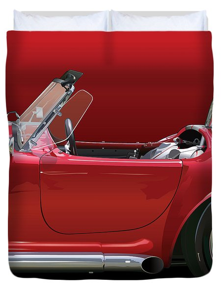 Ac Cobra Detail Duvet Cover