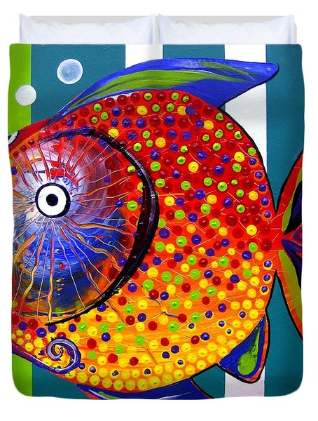 Acidfish 60 Duvet Cover