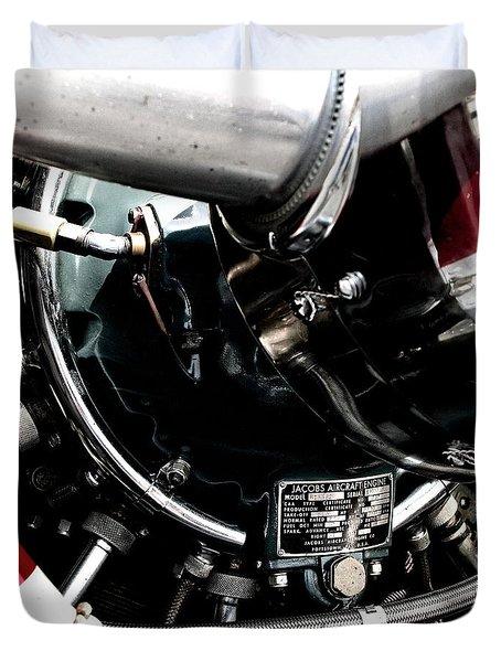 Aero Machine 6 Duvet Cover by Nathan Larson