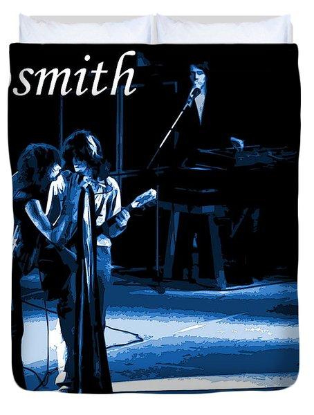 Aerosmith In Spokane 12c Duvet Cover by Ben Upham