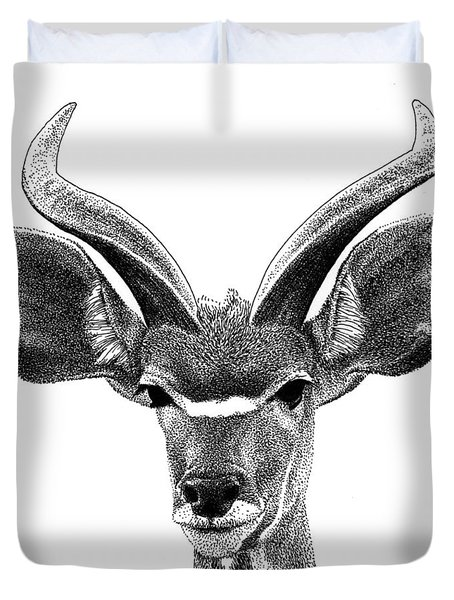 African Kudu Duvet Cover