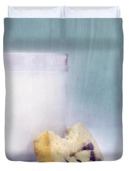 After School Snack Duvet Cover