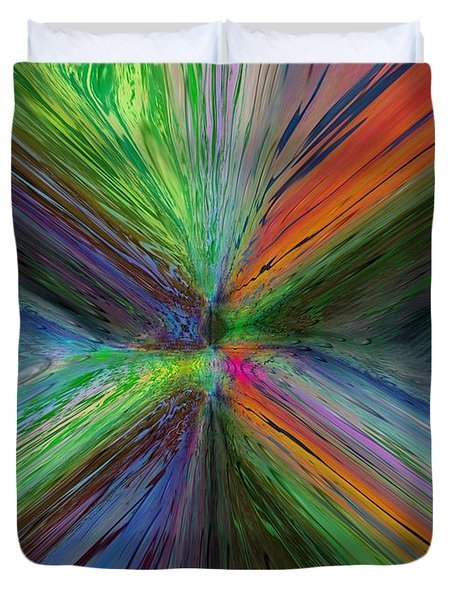 After The Rain 8 Duvet Cover by Tim Allen