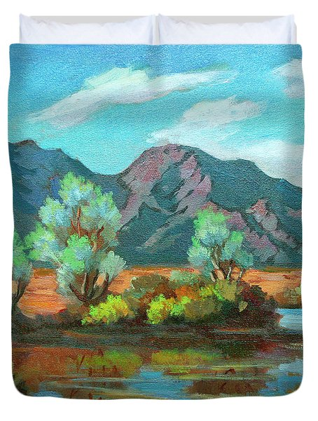 After The Rain Duvet Cover by Diane McClary
