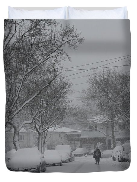 Duvet Cover featuring the photograph After The Storm by Dora Sofia Caputo Photographic Art and Design