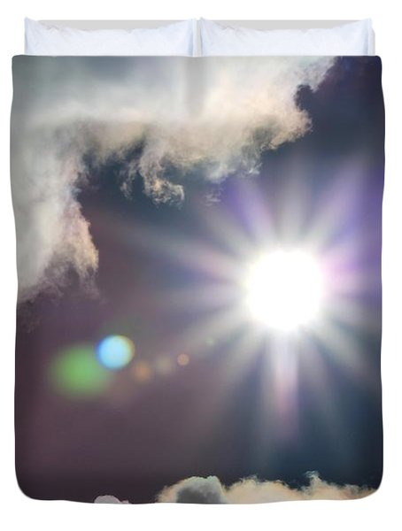 After The Storm Duvet Cover by J McCombie