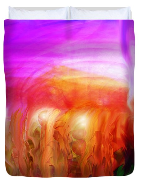 After The Storm Duvet Cover by Linda Sannuti