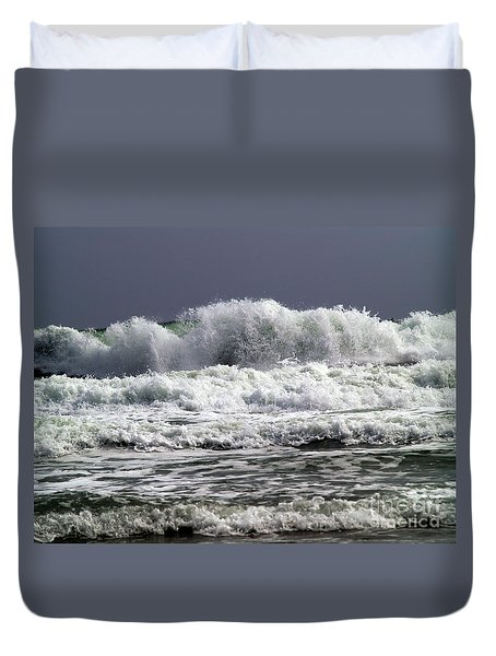 Aftermath Of A Storm Iv Duvet Cover by Patricia Griffin Brett