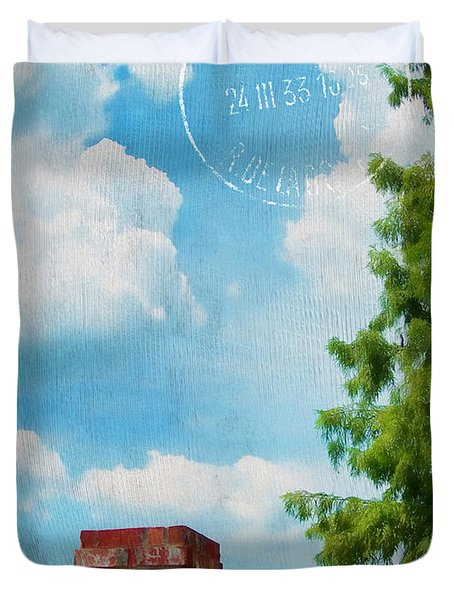 Afternoon In Paris Duvet Cover by Judi Bagwell